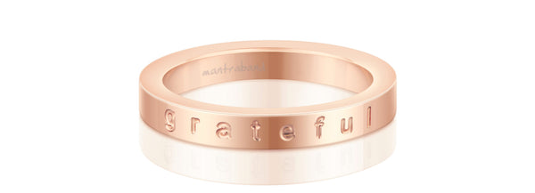 Grateful (rose gold)
