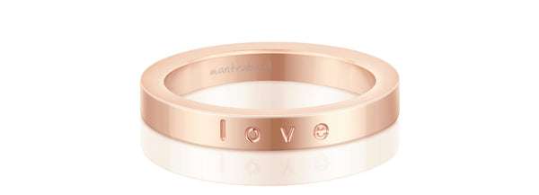 Love (rose gold)