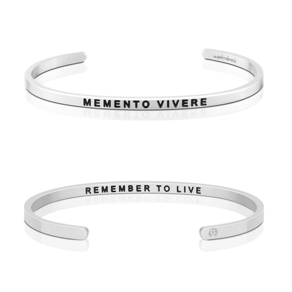 Memento Vivere, Remember To Live - FINAL SALE