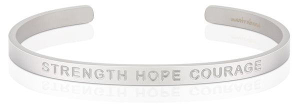 Strength Hope Courage (BOLD)