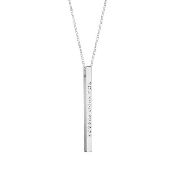 Silver You're My Person Necklace - MantraBand