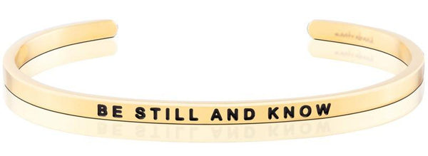 Bracelets - Be Still And Know