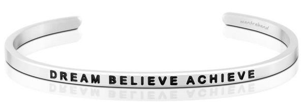 Bracelets - Dream Believe Achieve