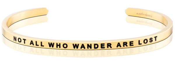 Bracelets - Not All Who Wander Are Lost