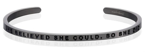Bracelets - She Believed She Could