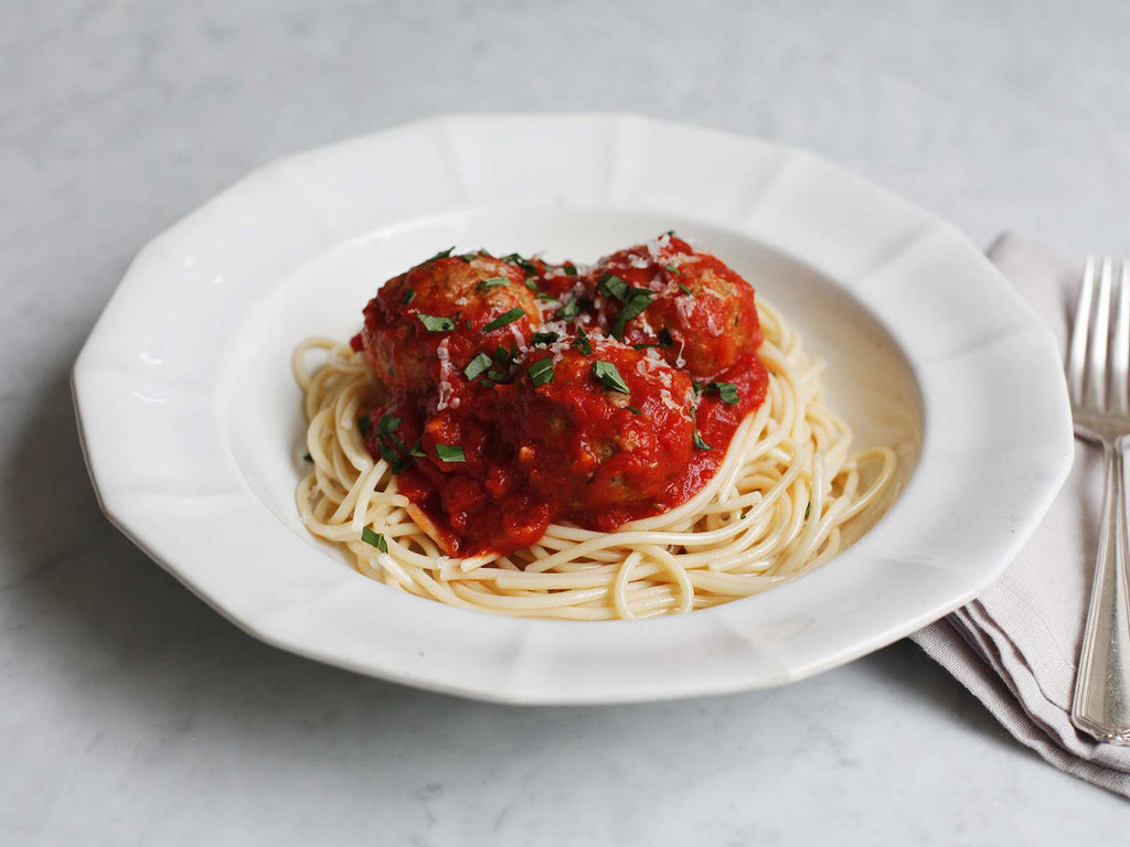 Nonna's Meatballs and Marinara Sauce