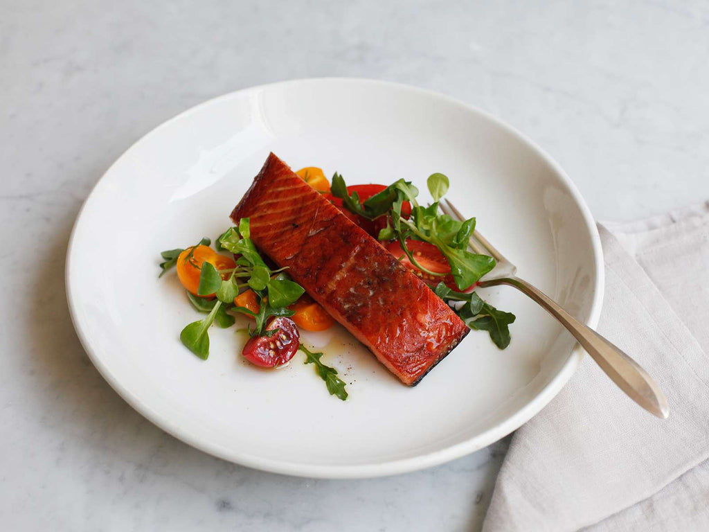 Hot Smoked Keta Salmon (GF)