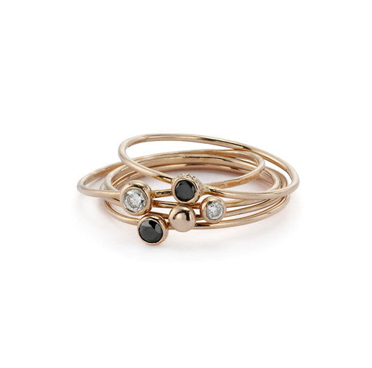 blanca monrós gómez | black diamond seed ring
