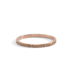 blanca monrós gómez | engraved eternity band