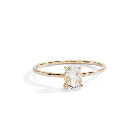 blanca monrós gómez | morganite stacking ring