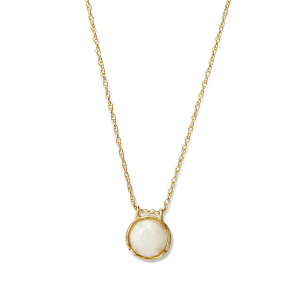 apolline opal necklace