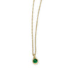 mabel emerald necklace