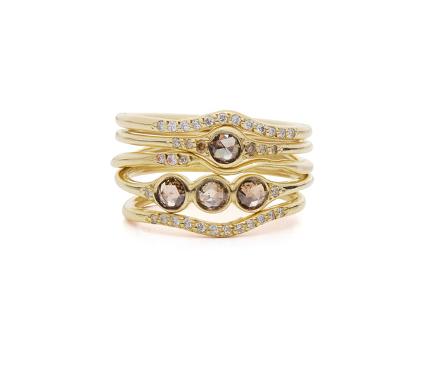 Florence little  champagne ring