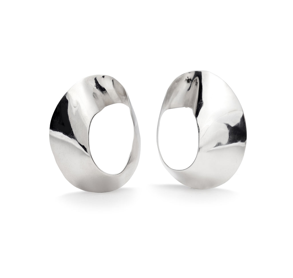 ramona earrings in sterling silver