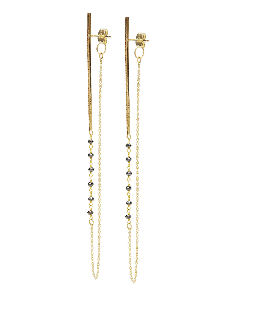 amelia  diamond earring