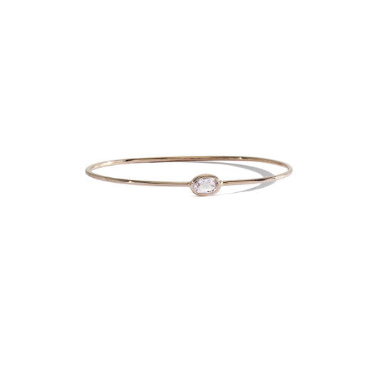 little morganite bracelet