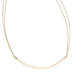 blanca monrós gómez | curved bar necklace