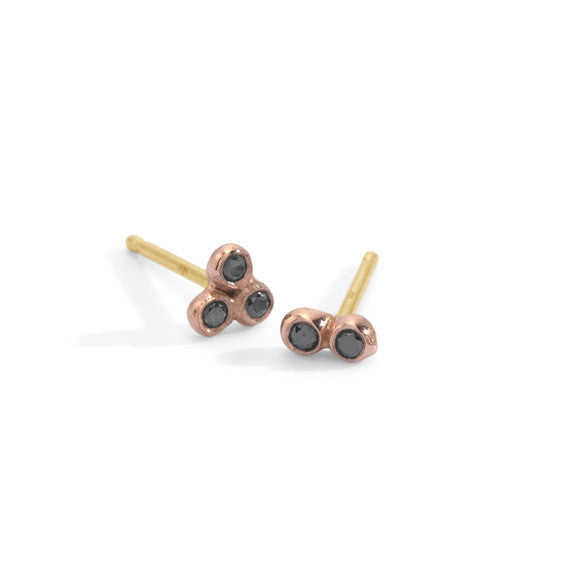 black diamond asymmetrical seed studs