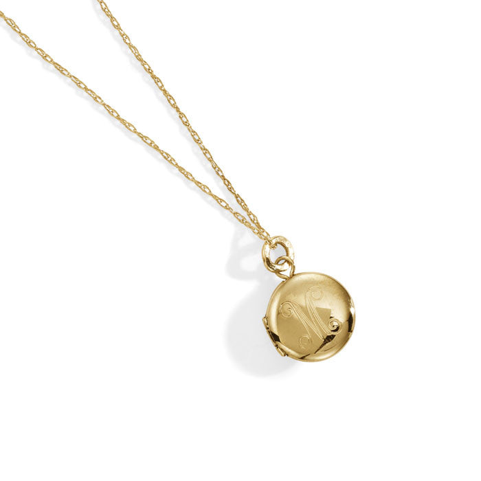 Blanca Monrós Gómez 14k Gold Keepsake Locket Necklace QEh3qrg