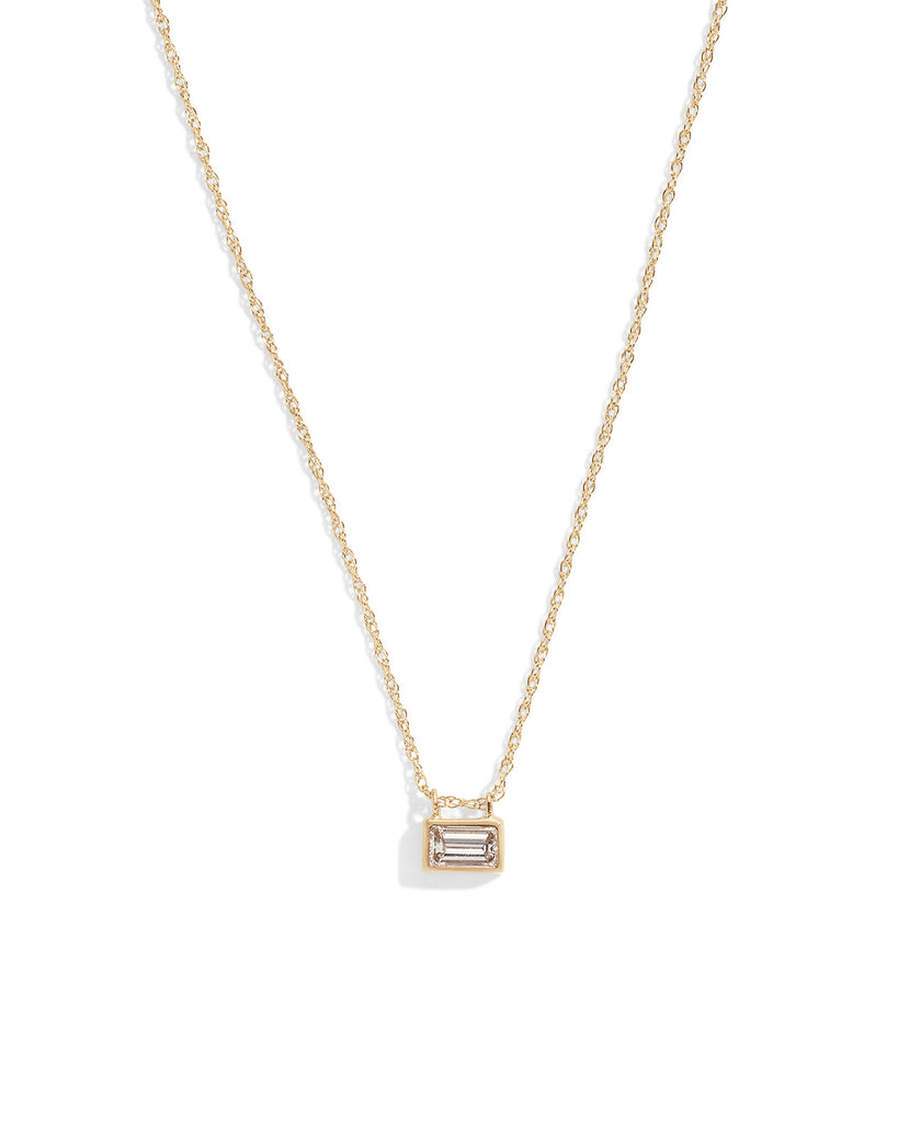 philippa white diamond necklace