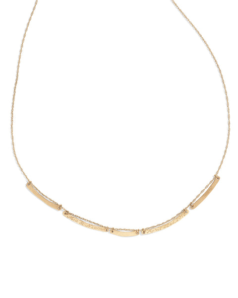 five bar emile necklace