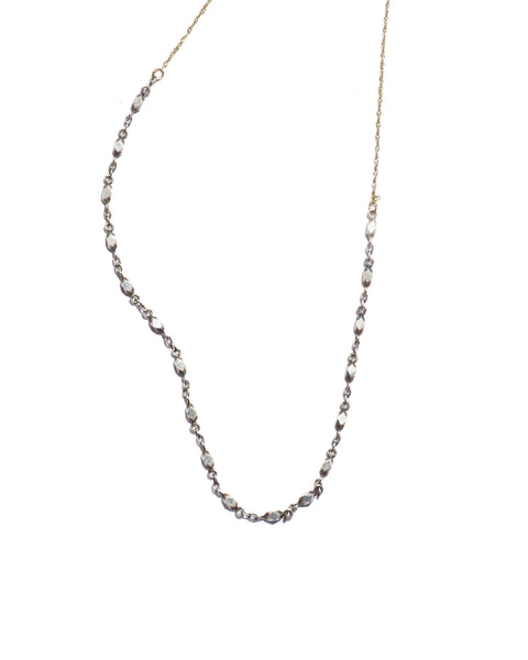 chain lariat necklace