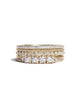 diamond flat eternity band