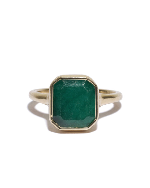 adele emerald ring