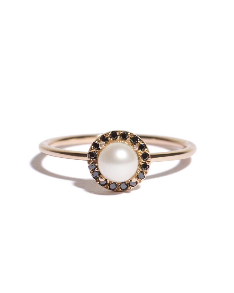 small pearl aura solitaire