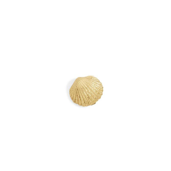 tiny seashell studs - pair