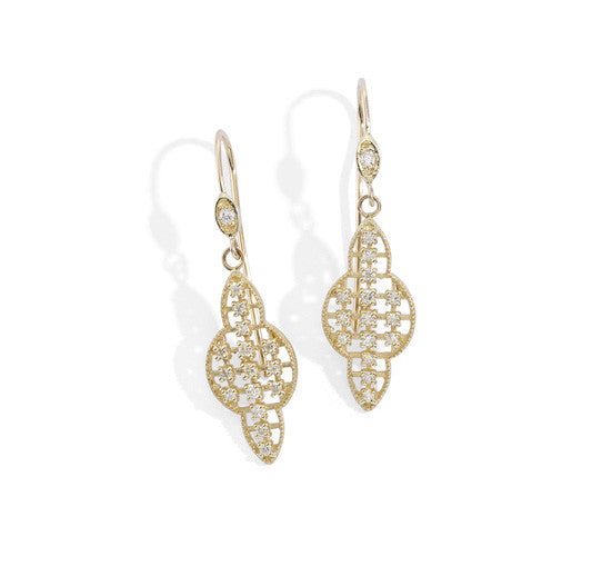 blanca monrós gómez | large filigree earrings