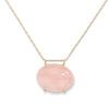 blanca monrós gómez | rose quartz claudel necklace