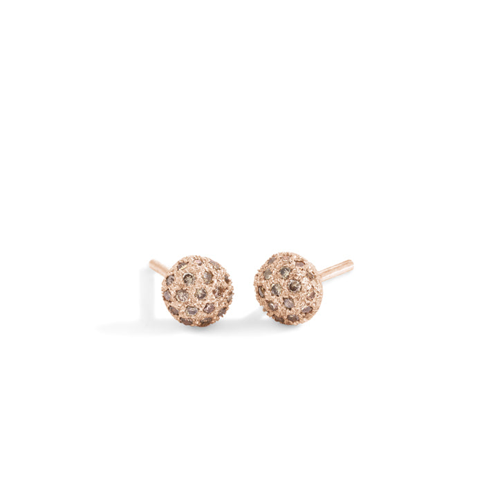 blanca monrós gómez | champagne diamond dot earrings