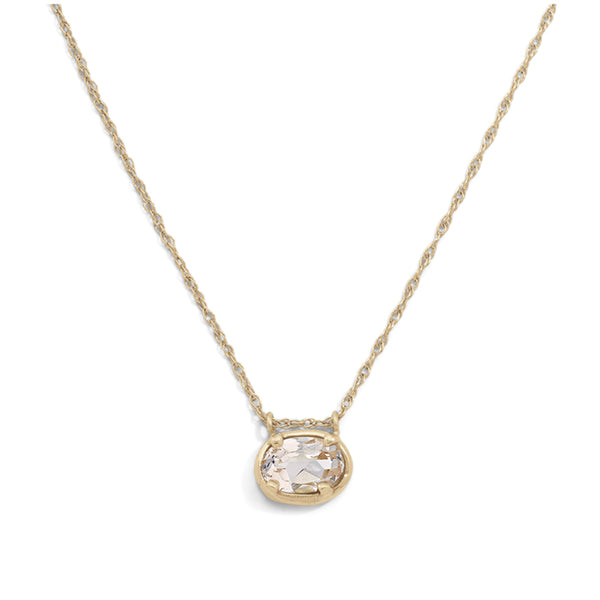 blanca monrós gómez | rosalind morganite necklace