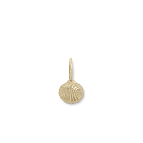 tiny seashell charm
