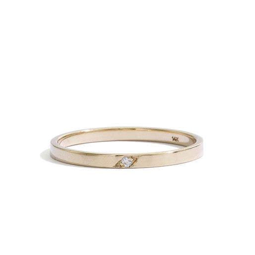 blanca monrós gómez | single diamond dainty band