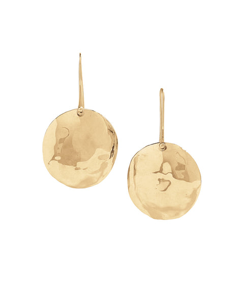 leonie gold earrings