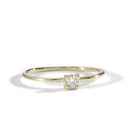 blanca monrós gómez | little prong diamond solitaire
