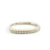 yellow gold tall stacking ring | blanca monrós gómez