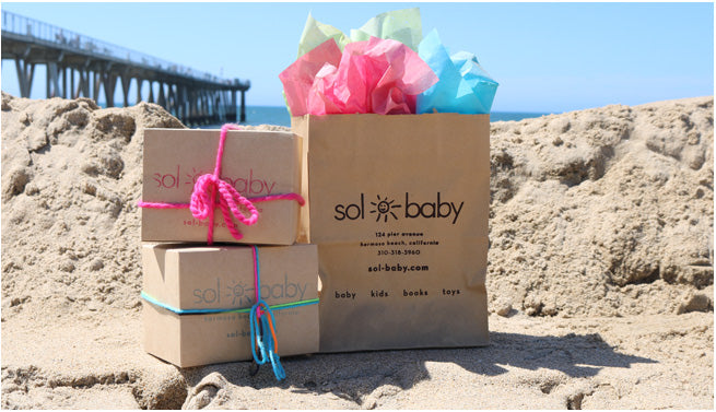 Sol Baby Gift Wrapping
