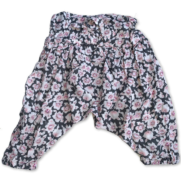 Born By the Shore Pink Flame Harem Pants