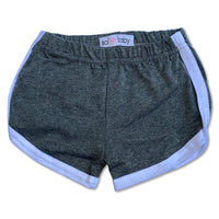 Sol Baby Retro Gym Shorts Heather Gray
