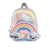 Iscream Rainbow and Stars Mini Backpack