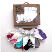 Me in Mind Girls Classic Flats Box of 6 Pair Infant Socks