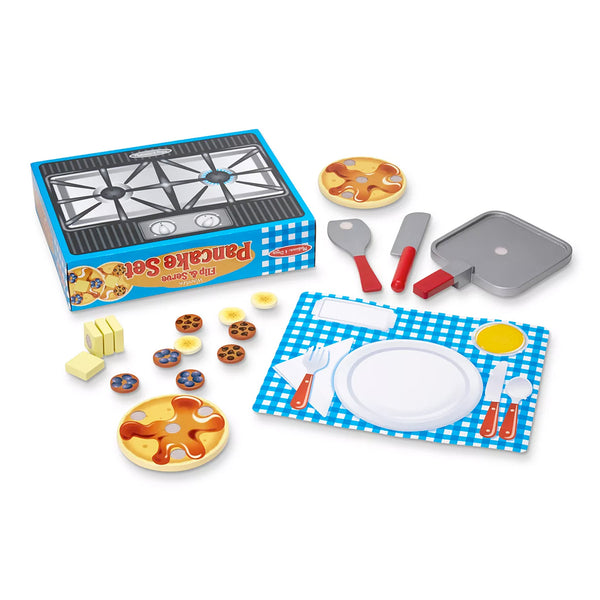 Melissa and Doug Wooden Waffle Set