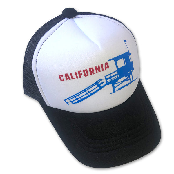 Sol Baby California Lifeguard Tower Trucker Hat