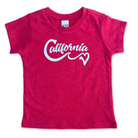 Sol Baby California Love Wave Red Tee