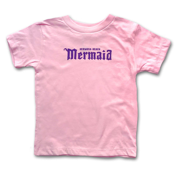 Sol Baby Hermosa Beach Mermaid Pink Tee