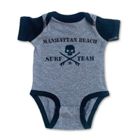 Sol Baby Surf Team Gray Bodysuit