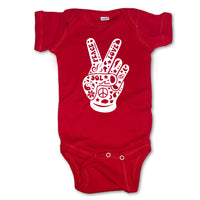 Sol Baby Peace Love and Sol Bodysuit